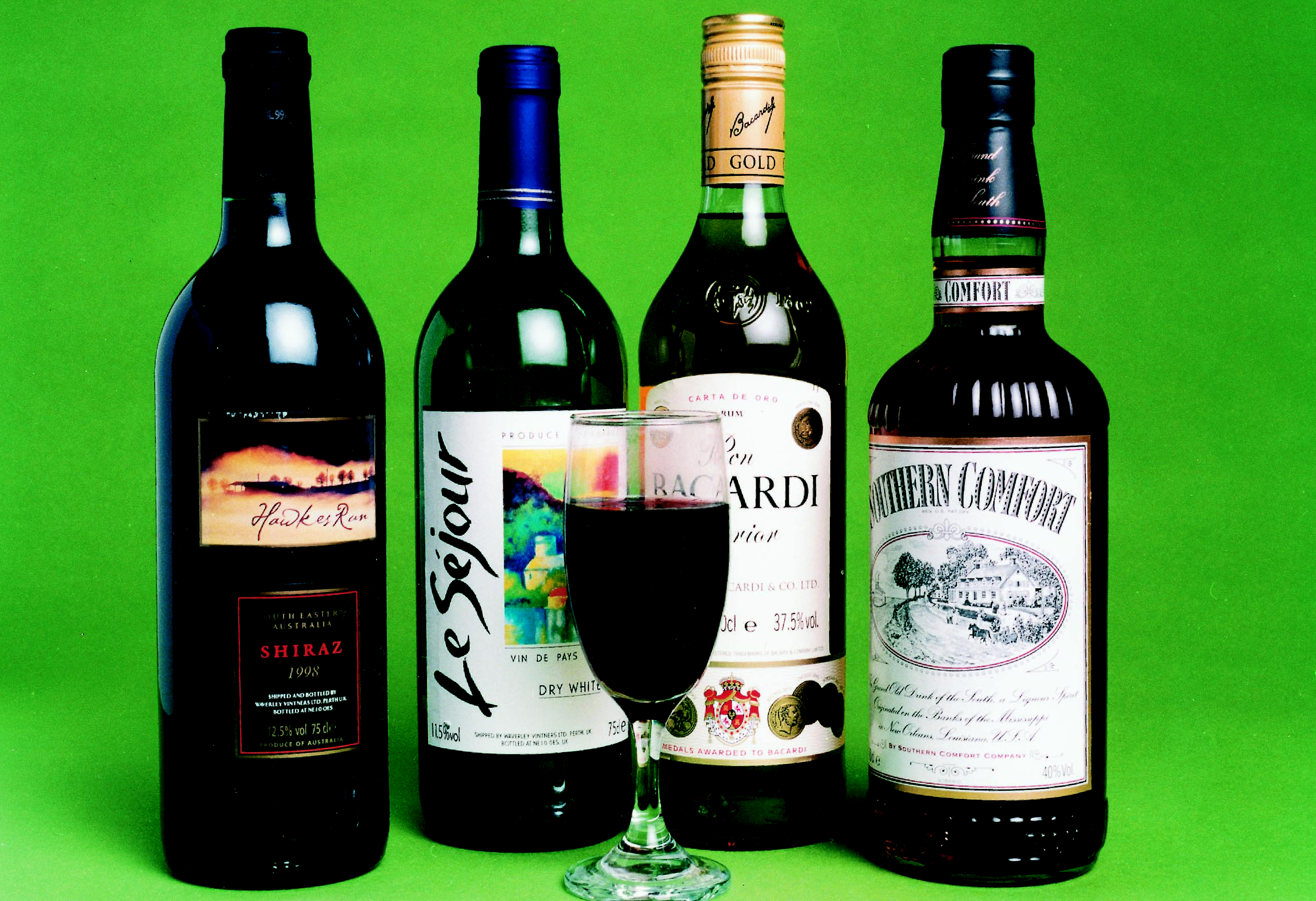 alcohol spirits wine