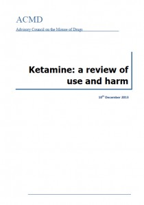 ACMD Ketamine report Dec13