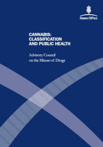 ACMD Cannabis report, 2008