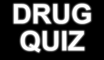 drug quiz