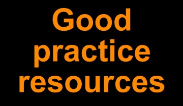 Good practice resources