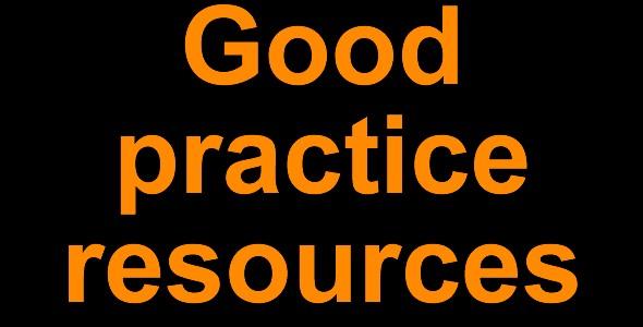 Good practice resources