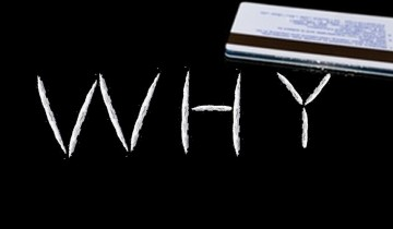 why - cocaine lines